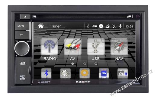 XZENT X-302BT: 2-DIN Naviceiver